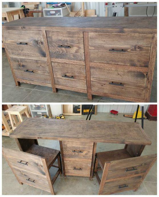 mesa de madera para cocina