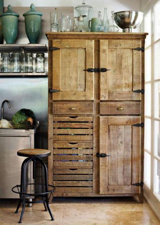 mueble para madera de cocina