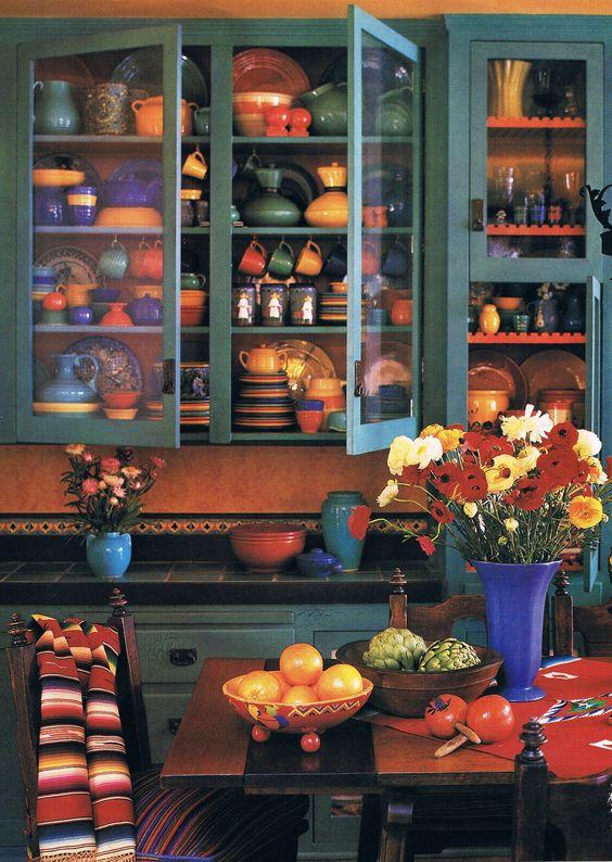 Muebles De Madera De Colores (3)