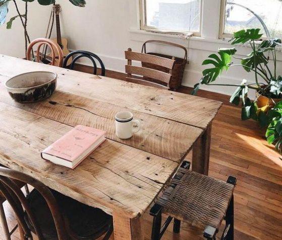 Encuentra las mejores opciones en comedores de madera para for Imagenes de comedores de madera