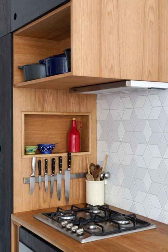 Cocinas americanas con modelos e ideas para el 2019 for Modelos de cocinas pequenas y bonitas