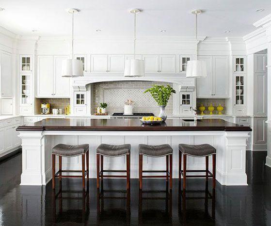 cocina minimalista de madera