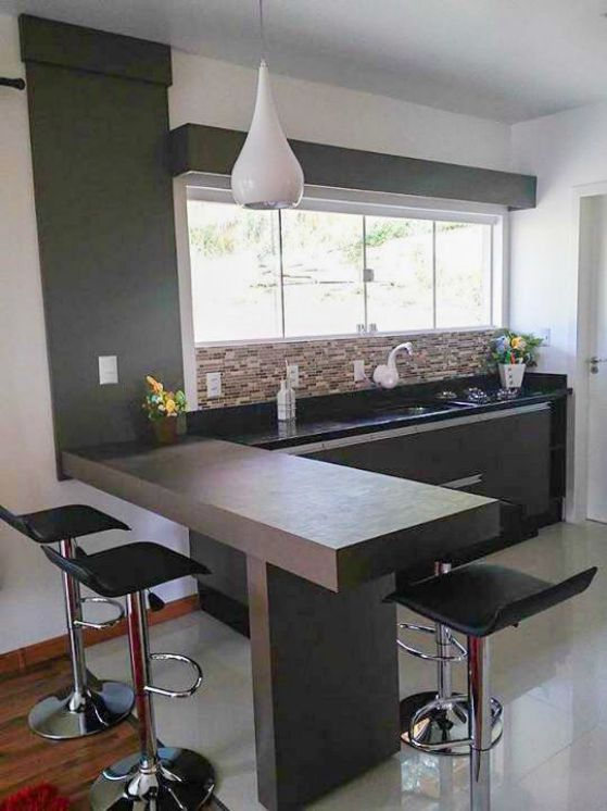 Cocinas americanas con modelos e ideas para el 2018 for Decoracion de cocinas integradas