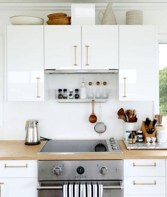 Cocinas americanas con modelos e ideas para el 2019 for Decoraciones de cocinas pequenas fotos