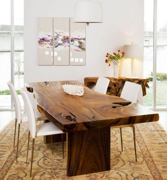 Comedores de madera diseños e ideas perfectos para el 2018