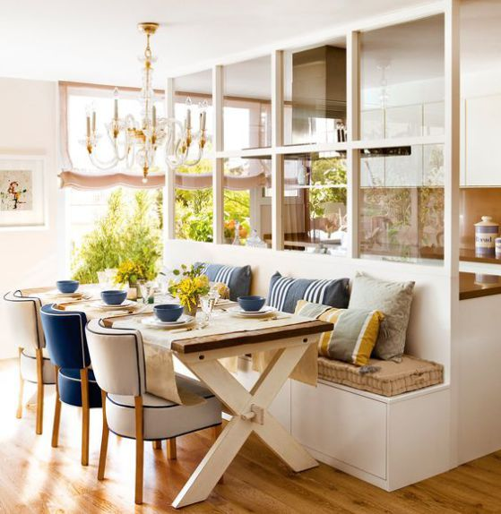 Comedores de madera dise os e ideas perfectos para el 2018 - Comedores decorados modernos ...