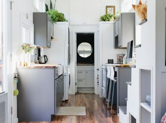 Cocinas americanas con modelos e ideas para el 2018 for Muebles de cocina americana pequena