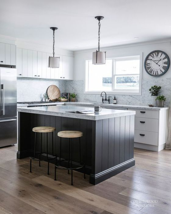 Kitchen Furniture Australia: Cocinas Americanas Con Modelos E Ideas Para El 2019