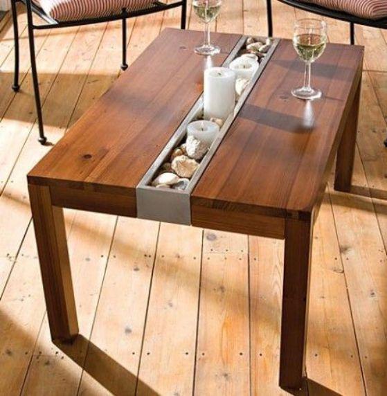 Como hacer una mesa de madera para comedor casa dise o - Como hacer una mesa de comedor ...