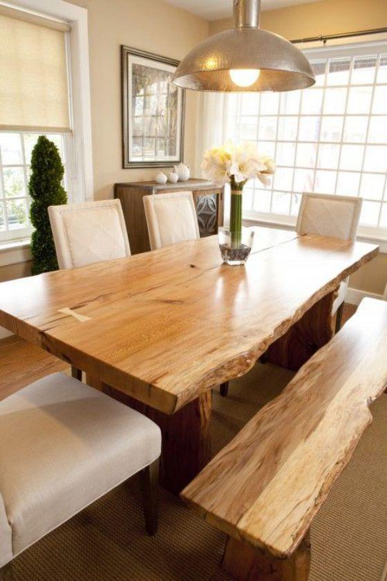 Comedores de madera dise os e ideas perfectos para el 2018 - Muebles de comedor rusticos modernos ...