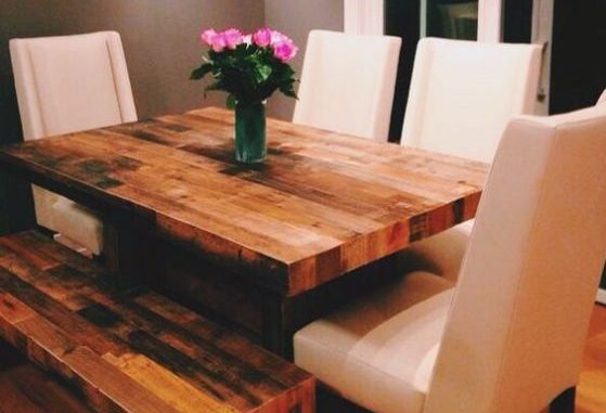 Encuentra las mejores opciones en comedores de madera para tu cocina - Las mejores mesas de comedor ...