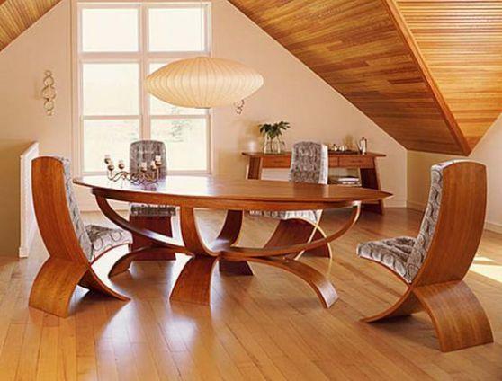 silla madera laminada