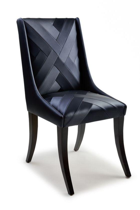 tapizado de piel silla de comedor