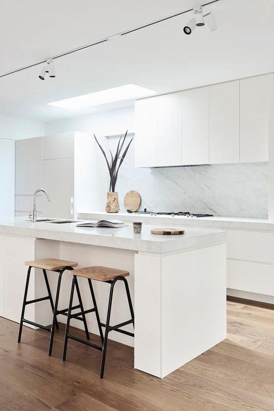 Cocinas Modernas Blancas (2)