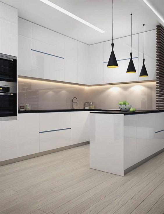 Cocinas Modernas Blancas (3)