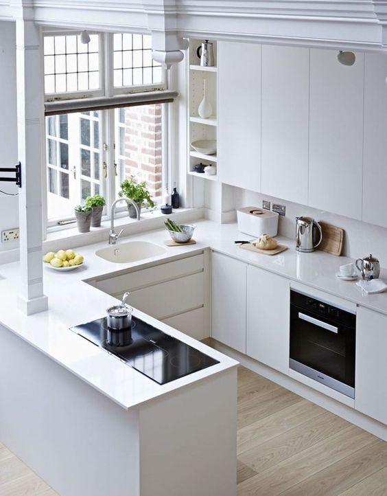 Cocinas Modernas Pequeñas (2)