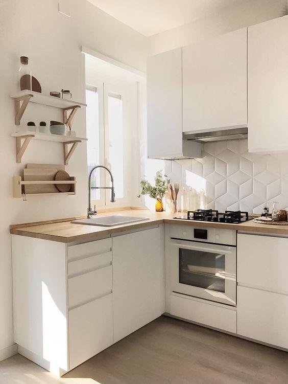 Cocinas modernas dise os y estilos de ltima tendencia - Cocinas pequenas y baratas ...