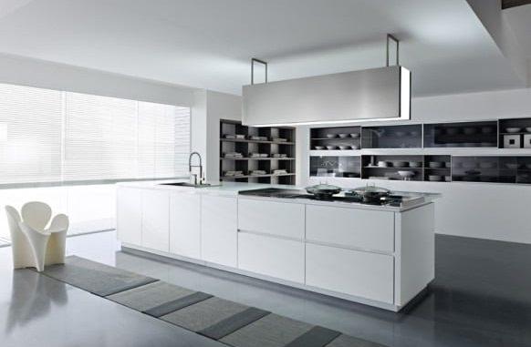 3. Cocinas Blancas Modernas