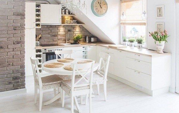 5. Cocinas Blancas Pequeñas