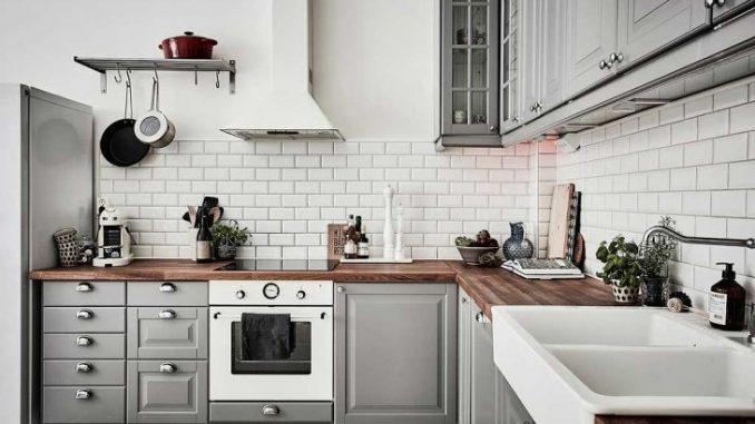 6. Cocinas Blancas Y Grises
