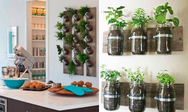 Cocinas Decoradas Con Plantas 3