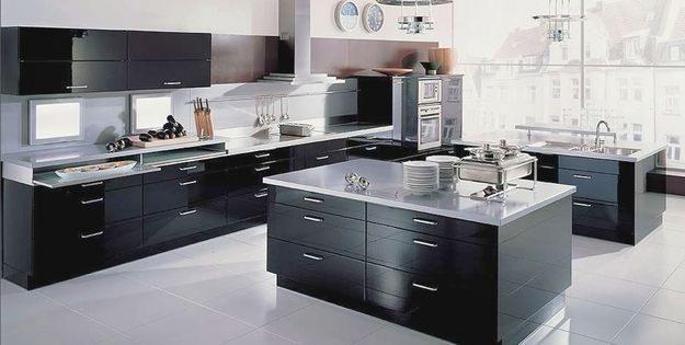 Cocina Negra Gris 4
