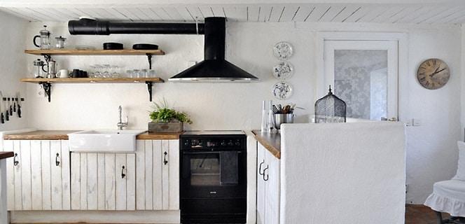 Cocina Vintage Blanco