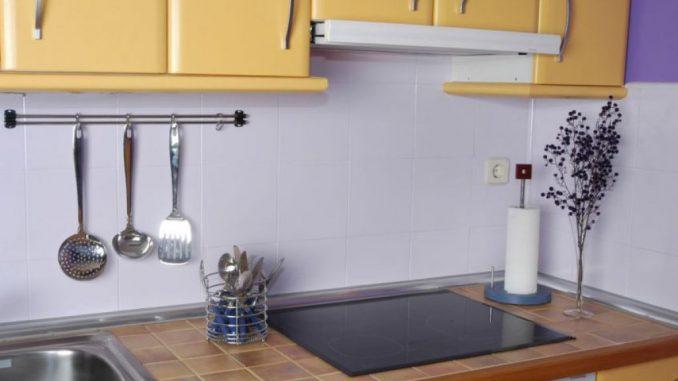 24 24 Impresionante Paredes De Cocina Sin Azulejos: Cocinas Con Paredes Pintadas Fabulous Link Papeles Pintados Para