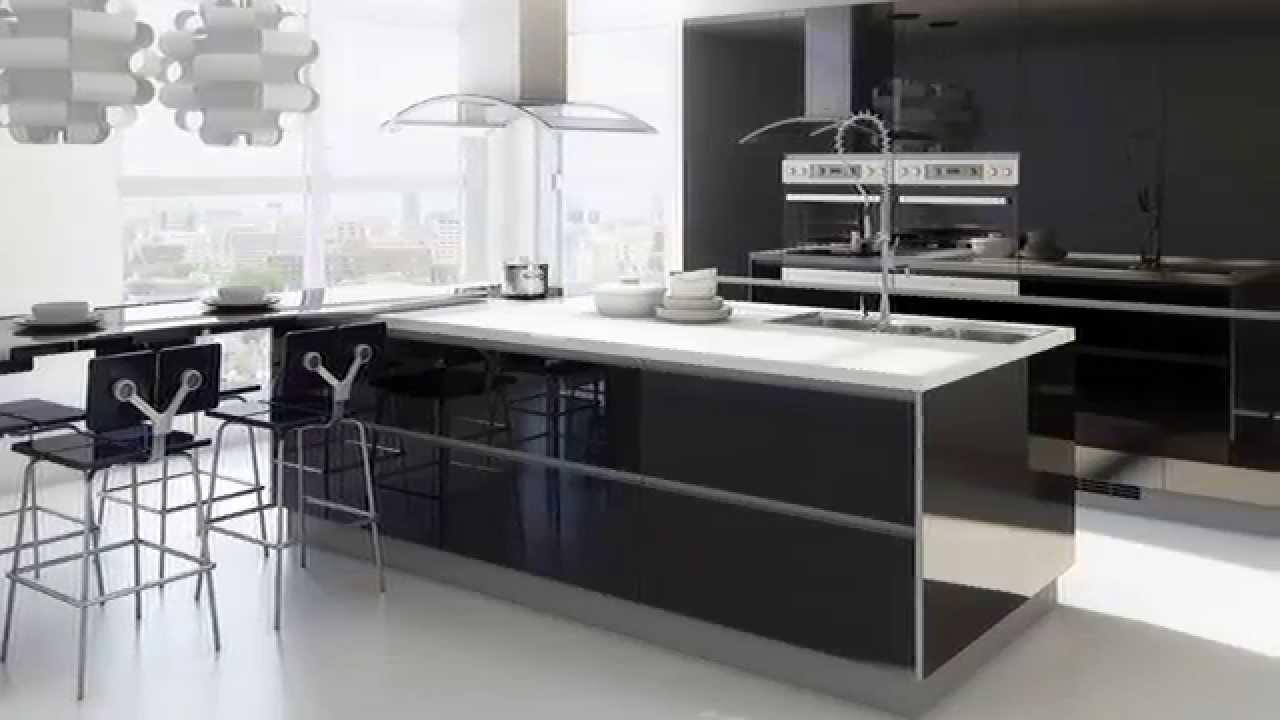 Cocinas Blancas Negras 3