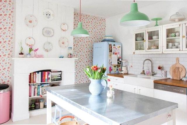 Cocinas Blancas Vintage