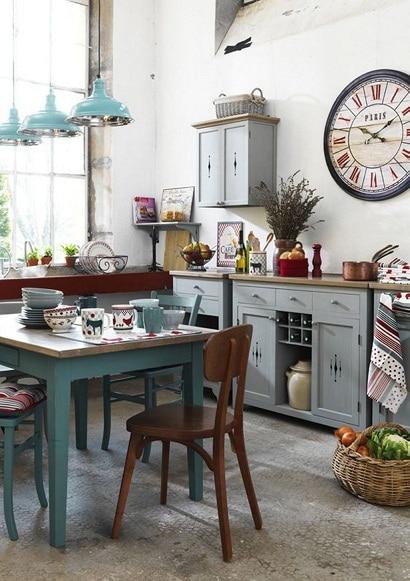Cocinas Vintage Es Rustica